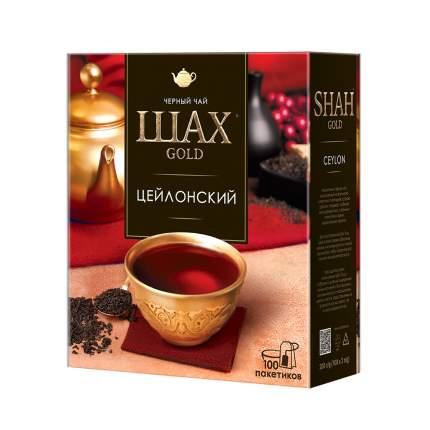 Чай черный Шах Gold Цейлонский 100 пакетиков