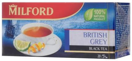 Чай Milford байховый черный ароматизированный 20*1.75 г