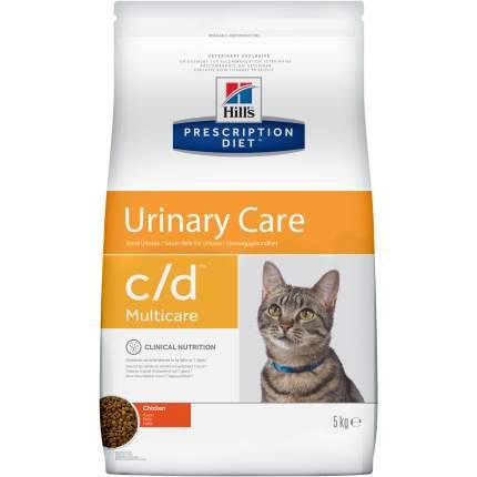 Сухой корм для кошек Hill's Prescription Diet Urinary Care, профилактика МКБ, курица, 5кг