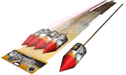 Ракета Легенда Торнадо А2061 4 шт.