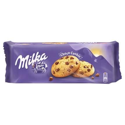 Печенье Милка с шоколадом Milka Chocolate Cookies 135 грамм Упаковка 24 шт