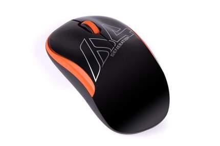 Беспроводная мышь A4 V-Track G3-300N Black/Orange