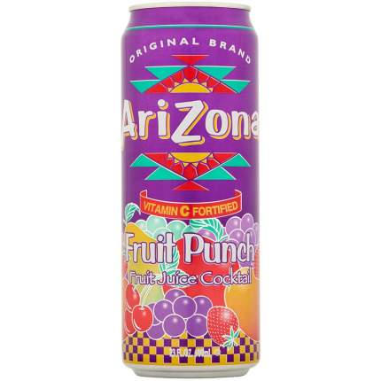 Напиток Arizona Fruit Punch 0,68л Упаковка 24 шт