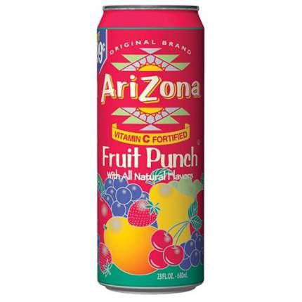 Напиток Arizona Fruit Punch 0,34л Упаковка 30 шт