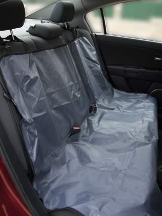 Автогамак для перевозки животных Монморанси Накидка на заднее сидение, серый, 130х115см