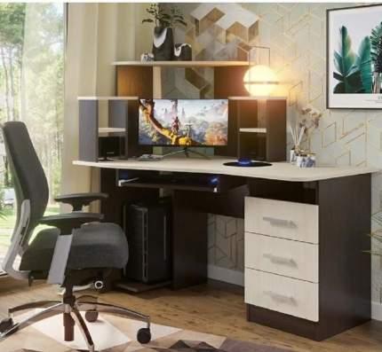 Компьютерный стол Стендмебель СТНДМ.119029, венге/дуб белфорт