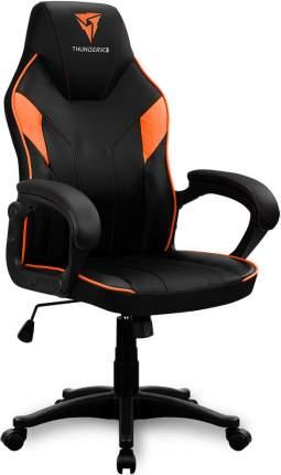 Игровое кресло ThunderX3, черный/оранжевый