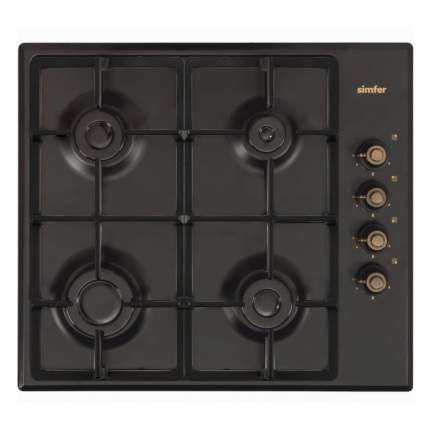 Встраиваемая газовая панель Simfer H60Q40L420 Black