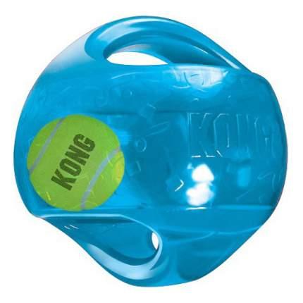 Апорт для собак KONG Мячик, голубой, длина 14 см