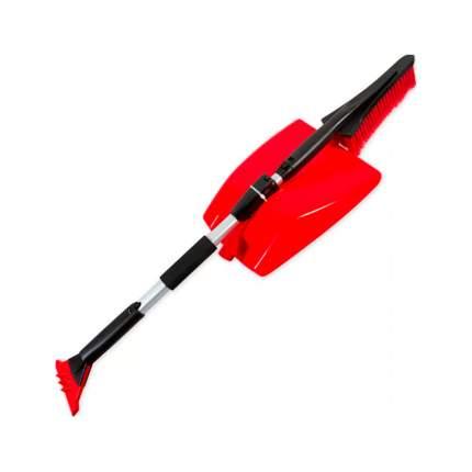 Лопата для очистки снега, щетка для снега, скребок с телескоп. ручкой 93-120 см ARNEZI A04