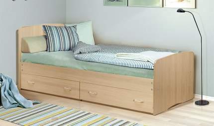 Кровать Фант-Мебель Фант 6-7 Дуб млечный, 1200х2000 мм