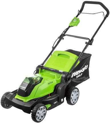 Аккумуляторная газонокосилка GreenWorks 2504707 G40LM41 без АКБ и ЗУ