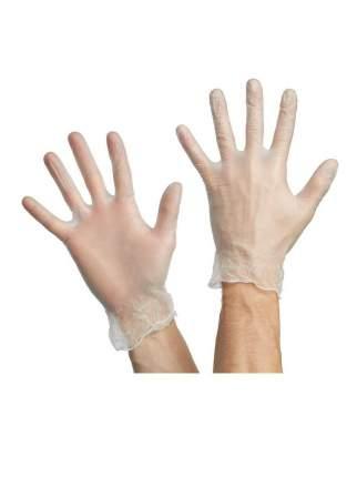 Перчатки виниловые 10шт. размер L арт. PACLAN 407550