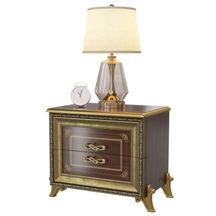 Тумба прикроватная Мэри-Мебель Версаль СВ-05, цвет орех тайский, 63х43х56 см.