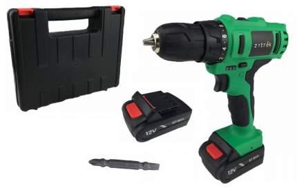 Дрель аккумуляторная Zitrek Greenpower 12-Li (12В, 2 Li-ion, кейс, бита) 063-4074