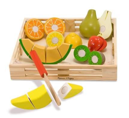 Набор порезанных фруктов Melissa & Doug Готовь и играй