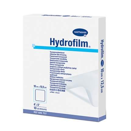 Самофиксирующаяся повязка HARTMANN Hydrofilm 10 см х 12,5 см прозрачная 10 шт.