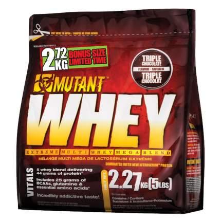 Протеин Mutant Whey 2270 г Triple Chocolate