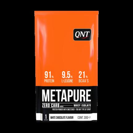 Протеин QNT Metapure Zero Carb 30 г White Chocolate