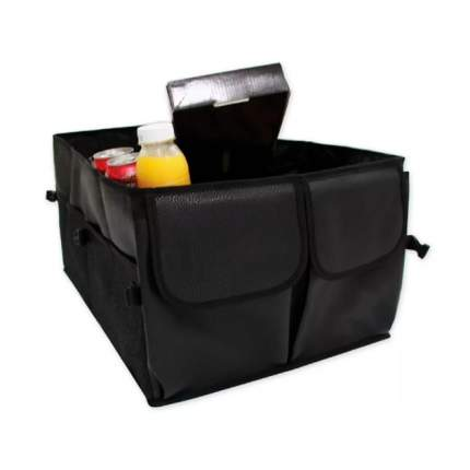 Органайзер в багажник автомобиля 520х420х280 мм. складной полиэстер черный ARNEZI А1004003