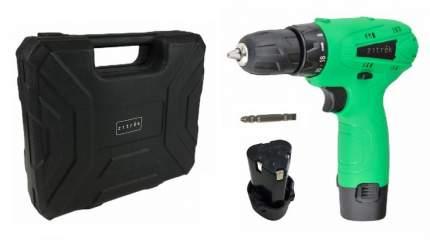 Дрель аккумуляторная Zitrek Green 12-Li (12В, 2 Li-ion, бита, кейс) 063-4072