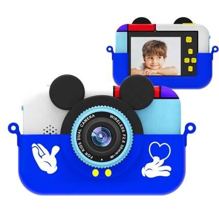 Детский фотоаппарат Микки Синий