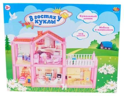 """Дом """"В гостях у куклы"""", с мебелью и человечками, 113 деталей"""