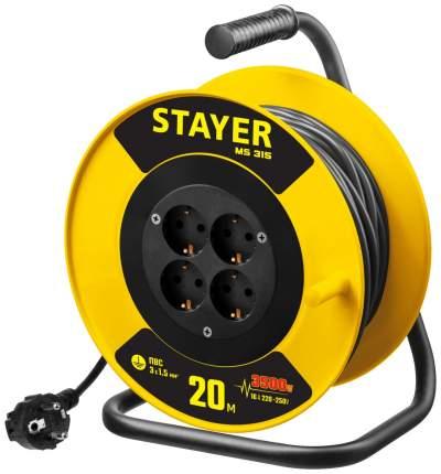 Удлинитель силовой STAYER 55078-20 MS 315 MASTER