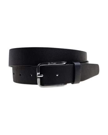 Черный кожаный ремень для мальчика Gulliver, модель 220GSBA2304, р. 85 см