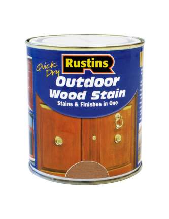 Финишная морилка QD Outdoor Wood Stain Teak (Тик)  500мл