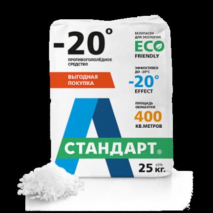 Противогололедный реагент А-Стандарт 20C 01-00000474 25 кг