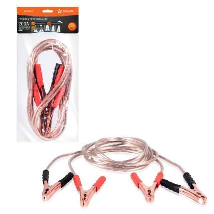 Провода прикуривания 200А силиконовые (2,2м, 6/12В) AIRLINE SA-200-Si