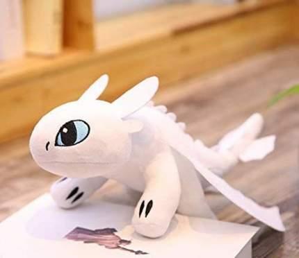 Мягкая игрушка CoolToys Беззубик дракон-фурия белая, 33 см