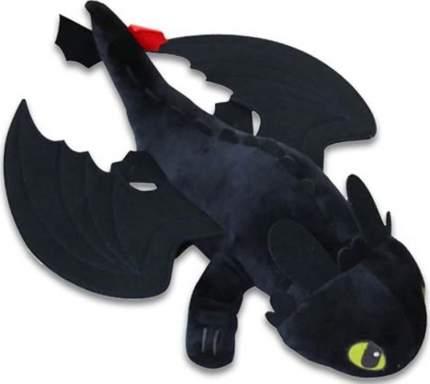 Мягкая игрушка CoolToys Беззубик дракон-фурия черная, 33 см
