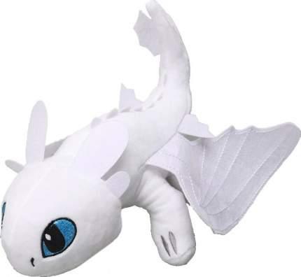 Мягкая игрушка CoolToys Беззубик дракон-фурия белая, 18 см