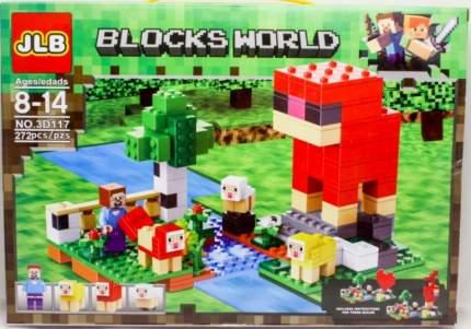 Конструктор Minecraft CoolToys Ферма 272 детали