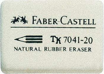 """Ластик """"Faber-castell 7041"""", белый, 36x26x8 мм"""