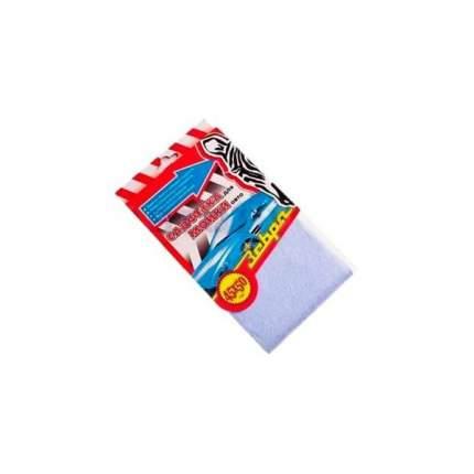 Салфетка для мытья и протирки автомобиля из вискозы 45x50см Зебра 0016