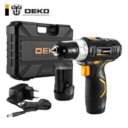 Аккумуляторная дрель в наборе DEKO GCD12DU3 SET3 063-4097