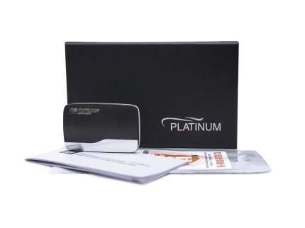 Транспондер АВТОДОР Platinum, черный +металл.вставка T-Pass TRP-4010Pl