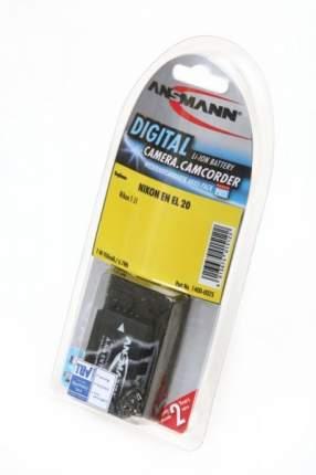 Аккумулятор ANSMANN EN EL 20 для фотоаппаратов Nikon 1 J1, 1 J2