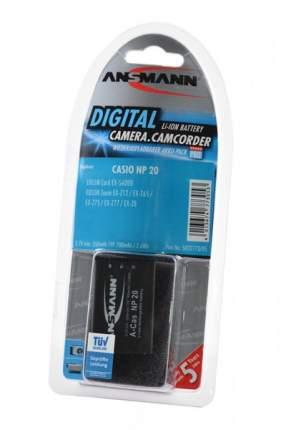 Аккумулятор ANSMANN NP-20 для фотоаппаратов Casio EXILIM EX-23, EX-M1
