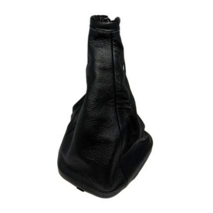 Чехол ручки КПП ВАЗ 2110-12 натуральная кожа черный AutoBra 2185-Ч