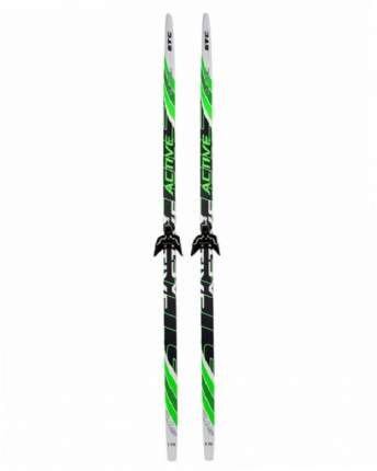 Комплект лыжный STC Step 75 мм без палок, ростовка 195