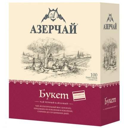 """Чай Азерчай """"Premium collection"""", чёрный байховый, 100 сашетов"""