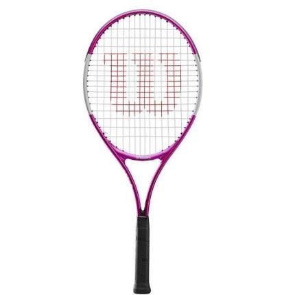 Ракетка для большого тенниса Wilson Ultra Pink 23, 0000, розовый, любительский