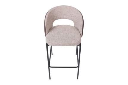 Полубарный стул Hoff Darrius 80343993, черный матовый/бежевый/коричневый
