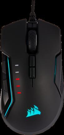 Мышь Corsair Gaming GLAIVE RGB PRO