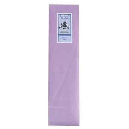 Рисовая бумага для животных Show Tech Rice Paper для папильоток фиолетовая, 10х40см, 100шт