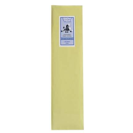 Рисовая бумага для животных Show Tech Rice Paper для папильоток, желтая, 10х40 см, 100 шт